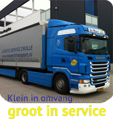 Klein in omvang, groot in service